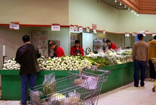 Veggies stand - Oriental Food Mart 華盛 in Markham