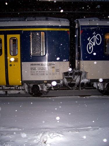 la Chaux-de-Fonds sous la neige