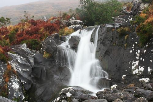 waterfall in the Gap of Dunloe