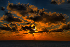 Holiday Sunset at Sea (Jeff Clow) Tags: ocean thanksgiving travel cruise sunset sea tourism bravo raw searchthebest explore nikkor18200mmvr 1exp specsky mywinners nikond300 jeffrclow