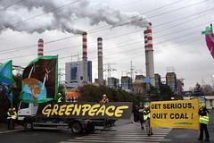 Greenpeace in azione in Polonia