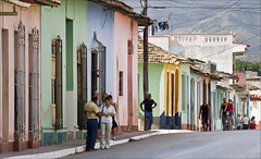 Trinidad (kate willmer) Tags: road street houses people town pavement cuba trinidad theperfectphotographer