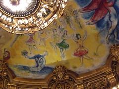 Du lac des Cygnes  Giselle (valkiribocou) Tags: paris france adam giselle chagall opra garnier plafond opragarnier lelacdescygnes valkiribocou tchakovsky parisgeotagged