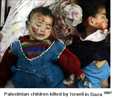 DEAD CHILDREN OF GAZA 4
