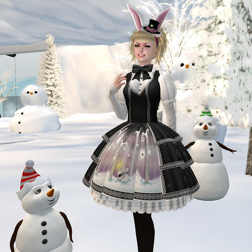 katat0nik Snow Bunny Dress 01