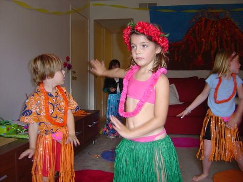 hula-girl
