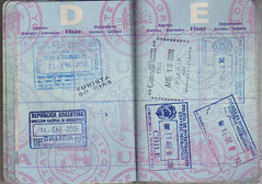 Passport D E () Tags: chile canada argentina stamp passport visa pasaporte sello