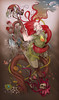 Bodah de Ciro (Bicicleta Sem Freio) Tags: black art design arte drawing victor castro draw reno douglas desenho renato chalks bicicletasemfreio victorjam