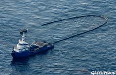 Gulf Oil Disaster (Greenpeace USA 2016) Tags: usa louisiana unitedstates platform pollution disaster oil oceans bp spill oilrig contamination britishpetroleum offshoredrilling offshoreoilplatform