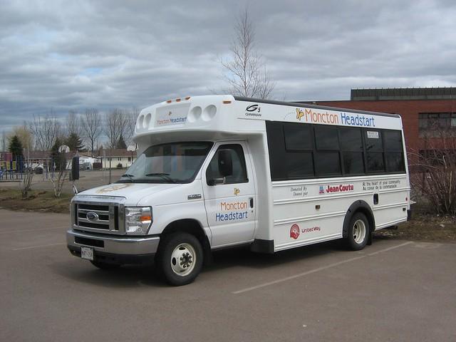 canada bus ford newbrunswick moncton 2010 headstart girardin