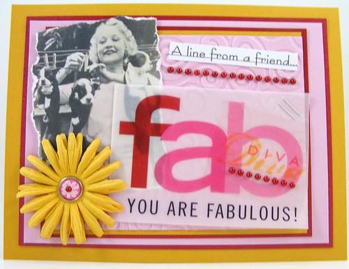 Fab Diva Card