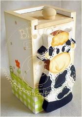 PALITEIRO (BILUCA ATELIER) Tags: cow vaca vaquinhas panelas pinturacountry paliteiro portaguardanapos kitcozinha descansosdepanelas portarolodepapeltoalh