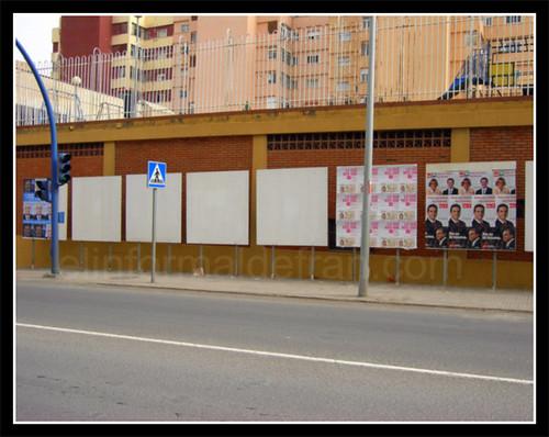 Pegada de carteles