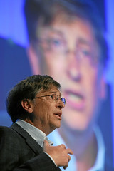 Bill Gates - World Economic Forum Annual by World Economic Forum, on Flickr