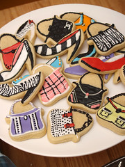Purses & Pumps :) (nikkicookiebaker) Tags: highheels handbags purses decoratedcookies