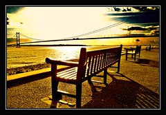 Best Seats In The House (BramstonePhotography) Tags: sunset river shadows benches soe humberbridge humber naturesfinest blueribbonwinner hessleforeshore supershot mywinners abigfave anawesomeshot diamondclassphotographer flickrdiamond onlythebestare betterthangood alohagroup goldstaraward