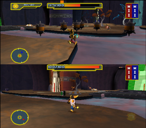 Ratchet & Clank Size Matters PS2 Multiplayer5