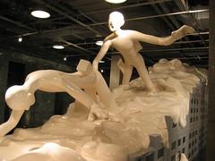 """Wang Jianwei, """"Dodge"""" (studiokumar) Tags: china art published gallery shanghai dodge wang artnet jianwei artnetcom"""