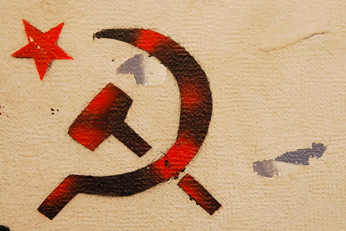 Hammer and sickle by cesarastudillo, on Flickr