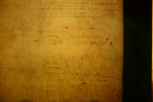declaration of independence signatures. Signatures on the Declaration