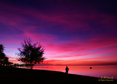 0331 PICT7342 (JRmanNn) Tags: sunset colorful gorgeous agana jrmannn