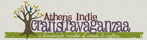 Athens Indie Craftstravaganzaa - I'm a vendor!