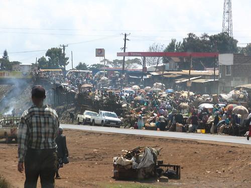 Nairobi street market