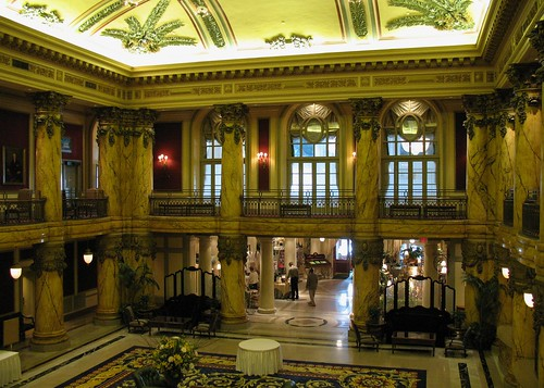 Jefferson Hotel Palm Court by Mr. T in DC.