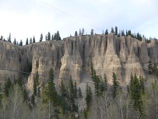 HooDoos near Fairmont BC Canada