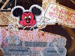 Evil Mickey (jglsongs) Tags: nyc newyorkcity pink streetart eastvillage newyork car manhattan lowereastside mickeymouse nuevayork     melvind billikid billikidbrand            thnhphnewyork      newyorkstadt