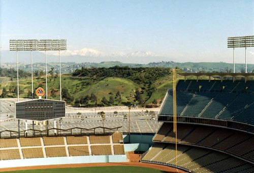 Stadiums In Los Angeles. Dodger Stadium 1962 Los