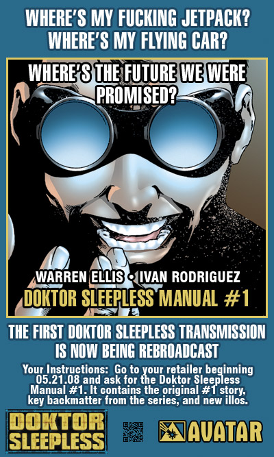 Doktor Sleepless Manual promo