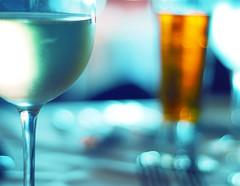 I'll have some sancerre wine and an order of bokeh, please. (*Peanut (Lauren)) Tags: wine explore sancerre whitewine hbw beerbokeh bokehwednesday dinnerbokeh becausesancerreismyfavewhite ireallydontdrinkthatmuchp mypeepswritemytags