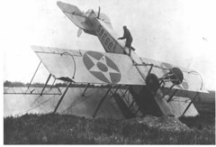 Wrecked Airmail Plane (Smithsonian Institution) Tags: smithsonianinstitution airplane crash biplane curtissjn4h jenny airmail usps airmailplanes airplanes biplanes airplanecrashes ltwebb jennyairmailstamp invertedjenny torreywebb airmailpilots postofficedepartment lieutenanttorreyhwebb curtissr4 robertheck june61918 franklinpark franklinparkaviationfield saugusmassachusetts saugus williammurray curtiss manonairplane upsidedown oops airplanecrash taildragger aviation nationalpostalmuseum stampsacrossthecommons mailacrossthecommons as39366 39366 noseover crashlanding aircraft militaryaviation curtissaeroplanecompany curtissmodelr curtissr modelr curtissmodelr4 r4 curtissmodelr4l curtissr4l r4l libertyengine libertyl12 liberty12