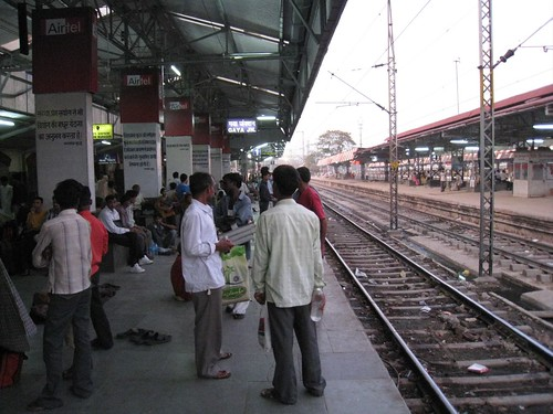 Gaya train station at 5am