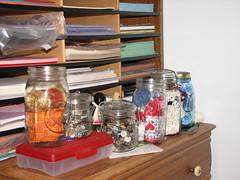 Lineup of Jars