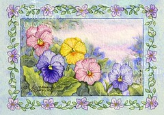 """Pansies"" by Elizabeth Ruffing"