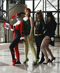 Rogue's Gallery (mew_pudding) Tags: new york dc costume comic cosplay harley batman quinn series animated comiccon con harleen quinnzel