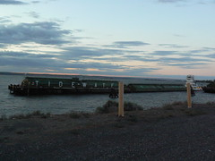 Barge in Boardman