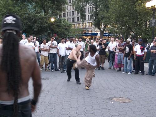 Fight Club in Union Square
