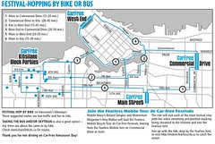 Car Free Vancouver 2008 Brochure - Riding with Amy Walker on June 15, 2008