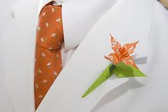Bruiloft origami