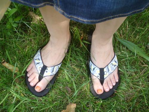 teva feet
