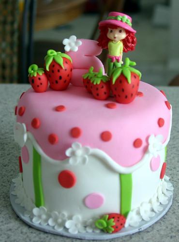 Strawberry Shortcake Individual Cake