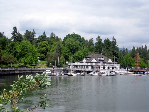boathouse, Stanley Park