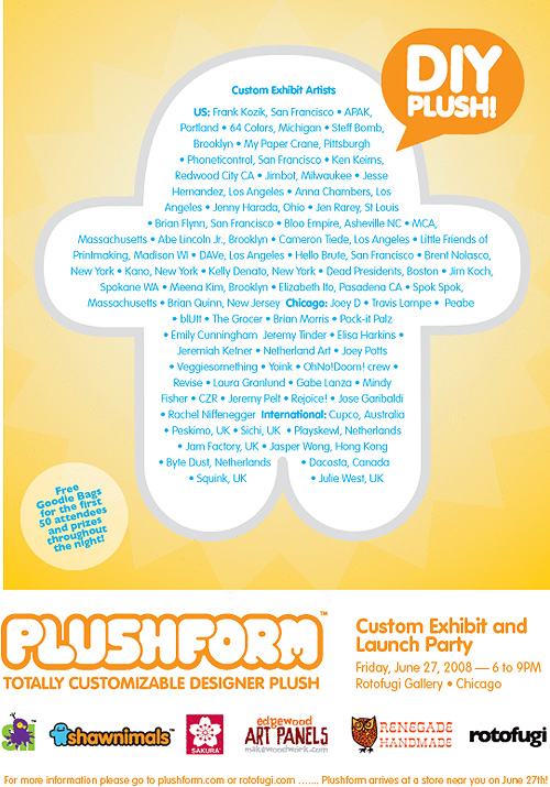 Plushform Exhibit