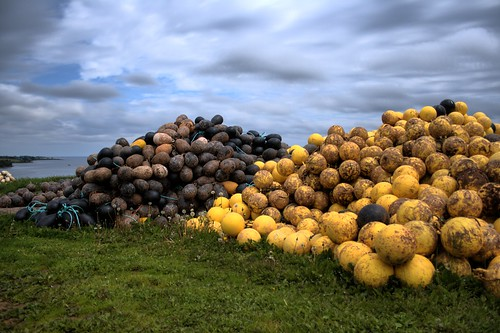 Buoys in PEI HDR