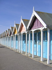 Beach Huts, Greenhill, Weymouth (Katie-Rose) Tags: uk seaside dorset greenhill beachhuts weymouth tradional katierose goldenbee fbdg konicaminoltadimagex20