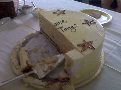 The cake was good!