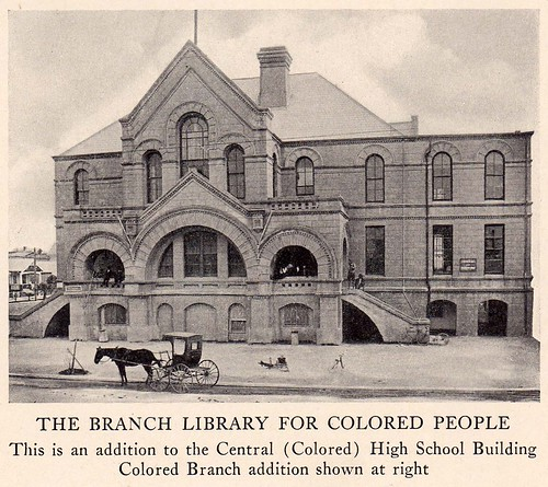 Rosenberg Library Colored Branch in Old Central School